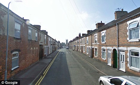 BULLYING SCUMBAG Usman Yasin, 30, attacked the 81-year-old after unleashing a barrage of abuse at her for travelling at 5mph on her way to visit her husband at a care home.The confrontation happened in All Saints Road, Burton upon Trent, pictured, after Yasmin complained the elderly woman was driving too slowly