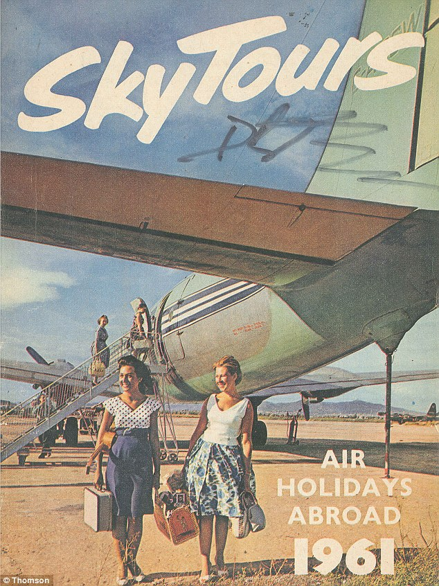 Thomson Airways Celebrates 50th Year By Releasing Archive