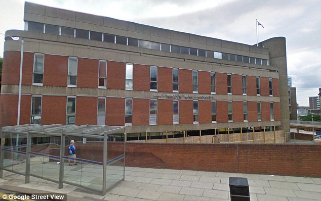 Documents: South Yorkshire Police headquarters in Sheffield. Details of the problem of sexual exploitation are revealed in internal reports prepared by the force