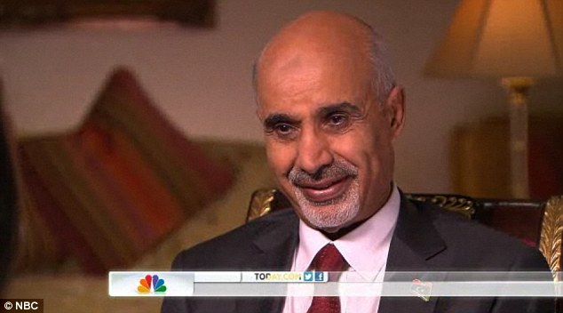 Terrorism: President Mohamed Magarief, pictured, said he had 'no doubt' the attack on the U.S. Consulate was pre-planned
