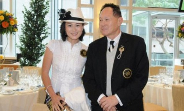 High hopes: Cecil Chao Sze-Tsung offered a multi-million pound 'marriage bounty' to any man who can win the heart of his lesbian daughter