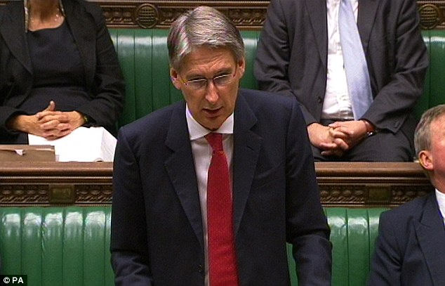 More cuts: The news comes after Defence Secretary Philip Hammond announced the loss of 17 units back in July