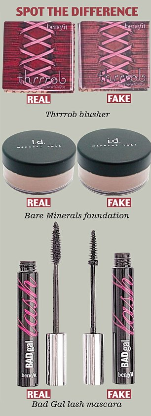 Image result for counterfeit makeup