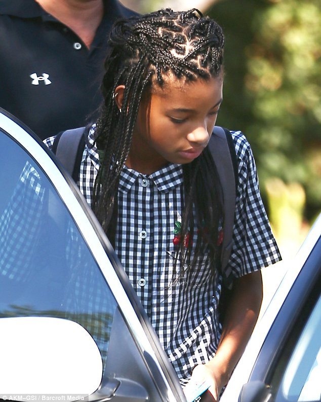 Willow Smith Swaps Her Crop For Long Braided Locks Daily