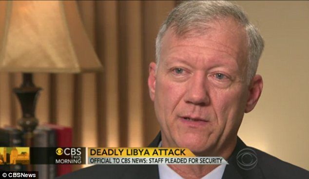 Pleas: Lt. Col. Andrew Wood said he asked for reinforcements in Libya but faced troop withdrawals instead