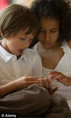 The average child is exposed to five different screens at home, including smart phones