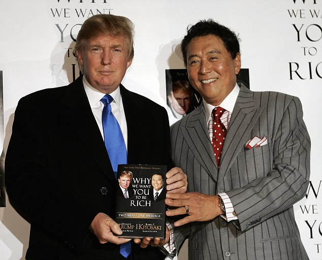 Donald Trump with Robert Kiyosaki