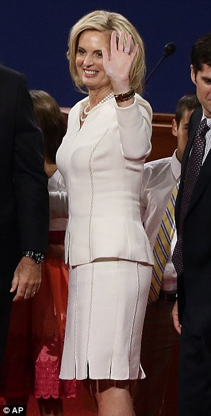 Ann Romney style: According to Alfred Fiandaca, Mrs Romney likes to have Mitt consult on her outfit choices, is 'edgier' than people realise, and almost always buys her clothes directly off the rack