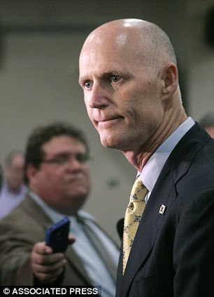 Oops: Florida Gov Rick Scott accidentally gave out phone sex number instead of the state's meningitis hotline