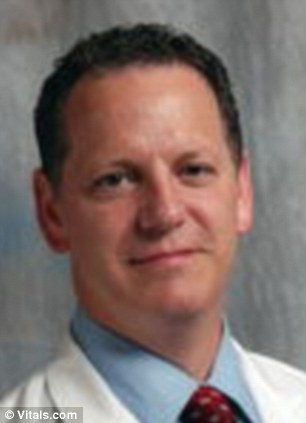 Sued: Dr Gilbert Webb is a defendant in a complaint accusing him of forcing Arteisha Betts into undergoing a vaginal delivery against her wishes