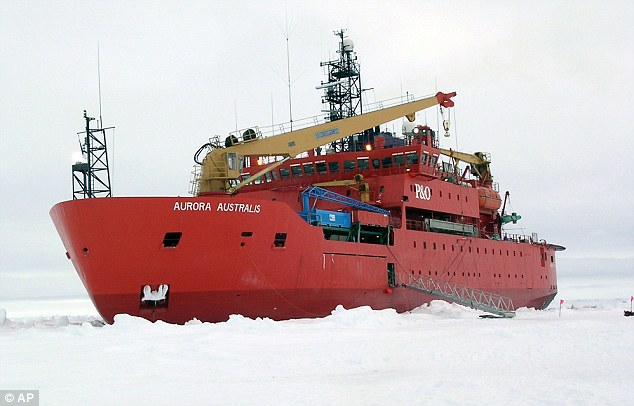 Increase: At the end of the southern winter in September, ice covered 7.51million square miles of sea ¿ more than at any time since records began in 1979. This image shows an icebreaker in the sea