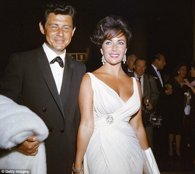 Number four: The actress pictured with husband Eddie Fisher, circa 1962