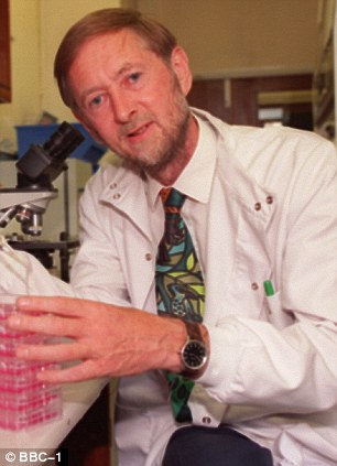Fears: Professor John Oxford at Queen Mary Hospital warns of a pandemic within the next five years