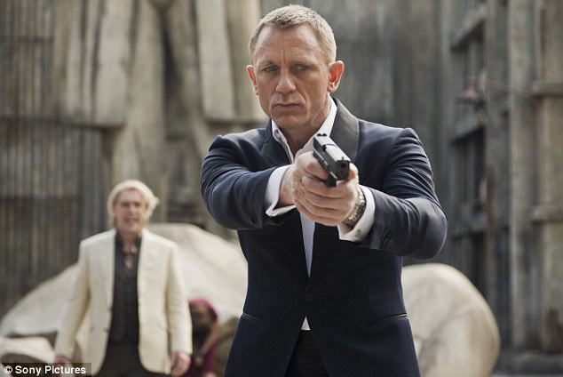The name's Bond: Daniel Craig will make his third appearance as the crime-fighting double agent in Skyfall, which hits UK cinemas on October 26