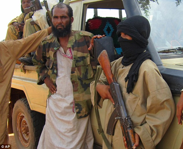 Shocking: Islamists in northern Mali have also recruited and paid as many as 1,000 children