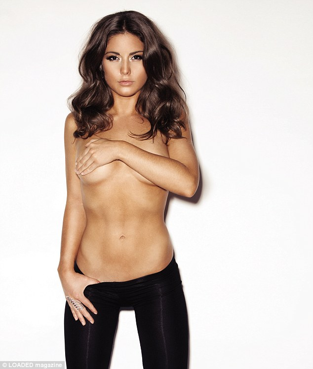 Revealing all: Made In Chelsea's Louise Thompson opens up about boyfriend Spencer Matthews' turn on The Bachelor, while posing in revealing shots for Loaded magazine