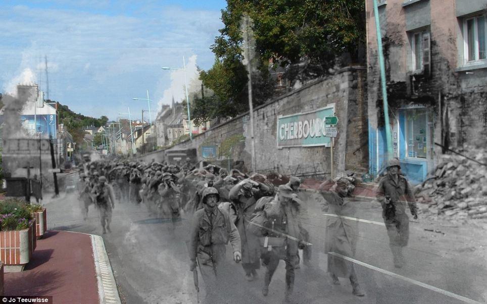 Ghosts Of War: Artist Superimposes World War II