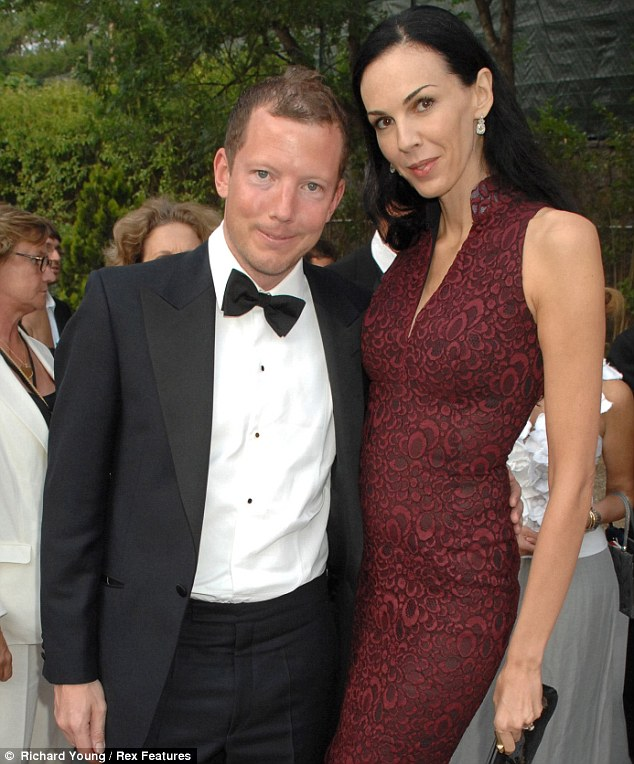 Living the high life: Nat Rothschild, pictured with L'Wren Scott at a partu during the Cannes Film Festival, has seen his City reputation destroyed after a deal to invest in an Indonesian coal mining company turned sour
