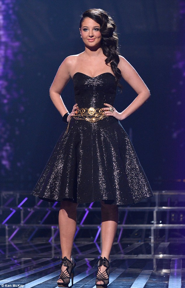 Another win: Tulisa looks confident as she pulls off another style win on Sunday night's X Factor