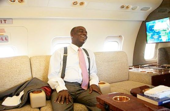 Image result for bishop david oyedepo in his private jet