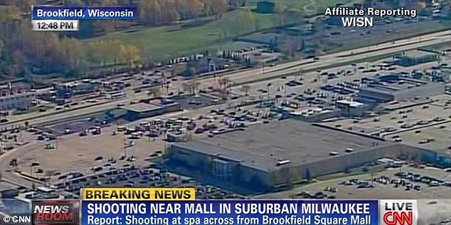Unknowns: The shooting began at a spa near a Milwaukee mall