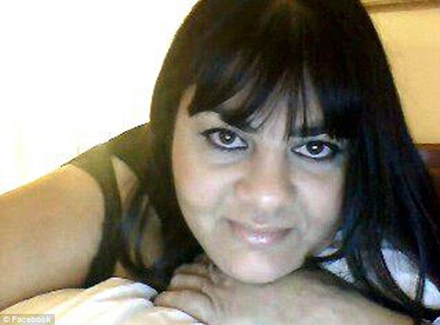 Tragic: Zina Haughton was among those shot dead by her estranged husband on Sunday at the spa where she worked
