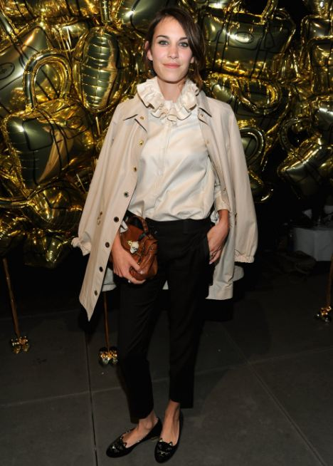 Style icon: Mulberry's Alexa range has been inspired by Alexa Chung