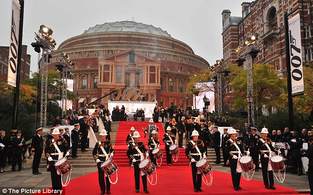 Entertainment: A number of drummers showed off their skills to heighten anticipation before the stars arrived