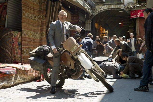 Academy Award contender: Daniel Craig could be in the running for best actor while Skyfall could take the biggest prize - best picture