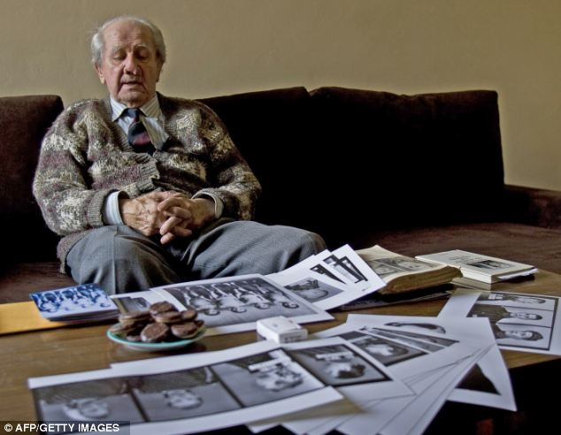 Mr Brasse became the Nazi's photographer after being sent to the camp as a prisoner. He managed to hide thousands of negatives which were later used as evidence against the Nazis who commissioned them