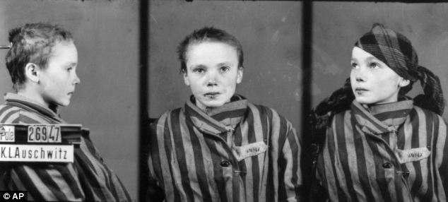 Wilhelm Brasse took some 40,000-50,000 photographs inside Aushwitz for the Nazis including these shots of Czeslawa Kwoka after she was beaten by a guard