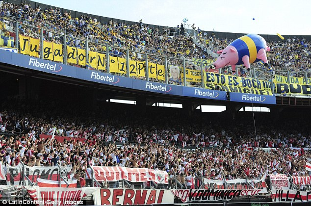 Image result for river plate fans