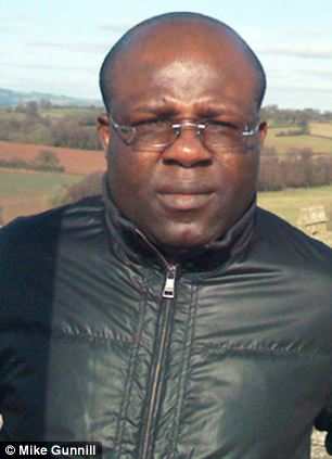 Jailed: Osezua Osolase, 42, preyed on poverty-stricken Nigerian orphans