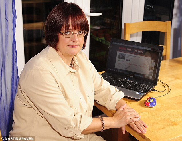 Jenny Beard was shocked to find her pictures, submitted to a singe-parents dating site, on sleazy lads¿ mag sites