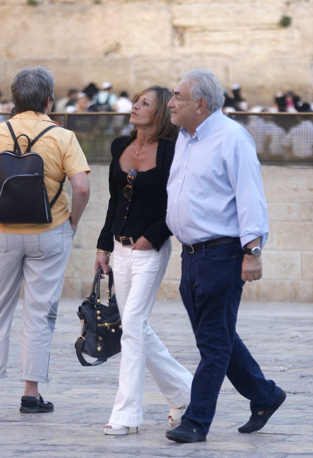 DSK and his new girlfriend have already been spotted traveling in Corsica