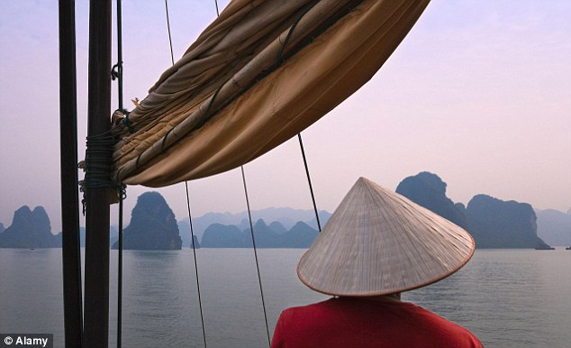 Vietnam, pictured, is one of a number of Asian 'Tiger Cub' countries climbing the Legatum Prosperity Index