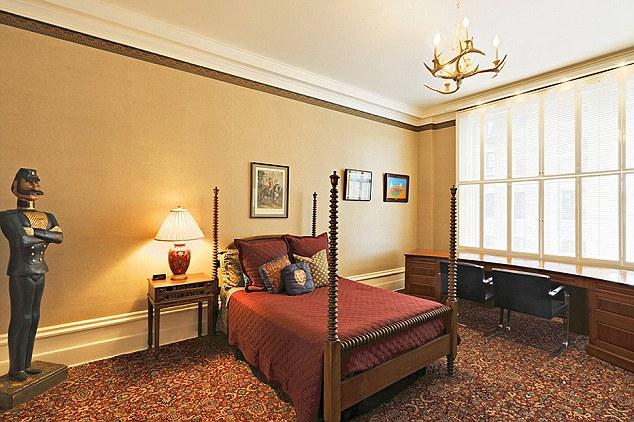 Holm's luxury bedroom