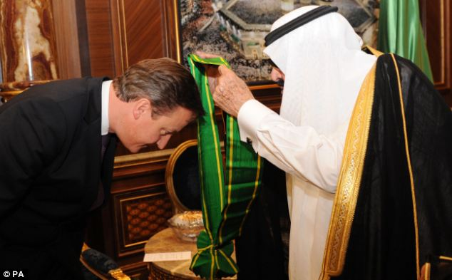 The Prime Minister received the King Abdullah Decoration One on the second day of his trade trip to the Gulf and Middle East