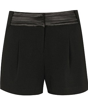 Shorts with satin trim: £30