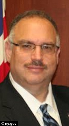 Fired: Steven Kuhr, New York's emergency management director, was accused of abusing his power
