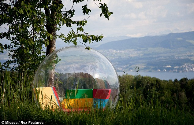 Relaxation: The orbs can be transported to secluded spots to offer some small protection against the elements