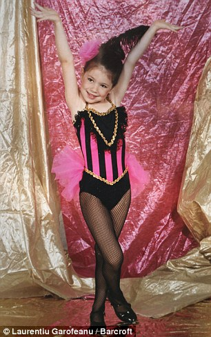 Emerald Andrews, before he became Arin, aged 4 at dance recital in Tulsa, Oklahoma