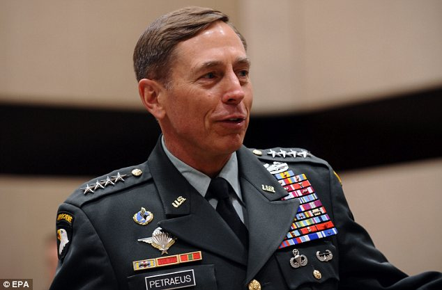 Quit: David Petraeus has resigned from the CIA