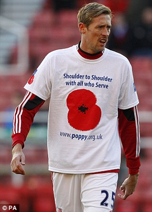 Image result for image of poppy on football jerseys