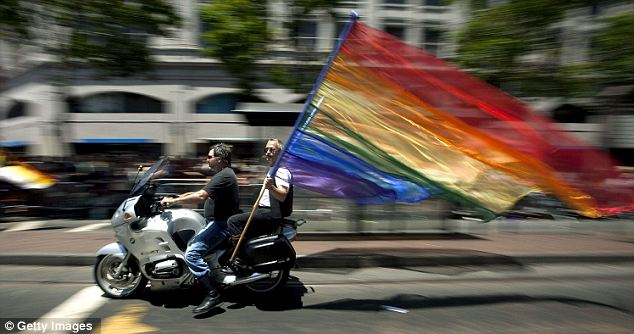 Equality: Supporters of the bill are calling the new bill a big step for LGBT rights and civil liberty