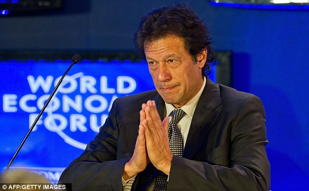 Obstacles: Khan also faces severe problems of corruption in Pakistan