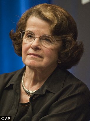 Threat: Dianne Feinstein warned that the Senate Intelligence Committee could subpoena Petraeus