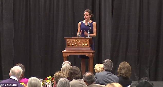 Making the rounds: She spoke regularly about Petraeus in an effort to promote her book