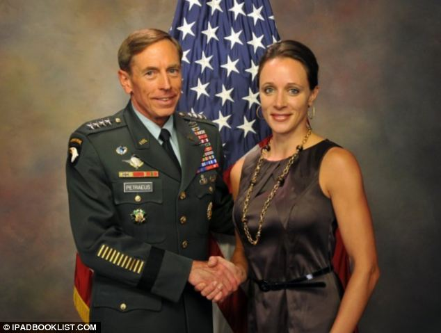 Scandal: Petraeus and Paula Broadwell, pictured, conducted an affair from November 2011 until July 2012 - forcing his resignation when details were made public