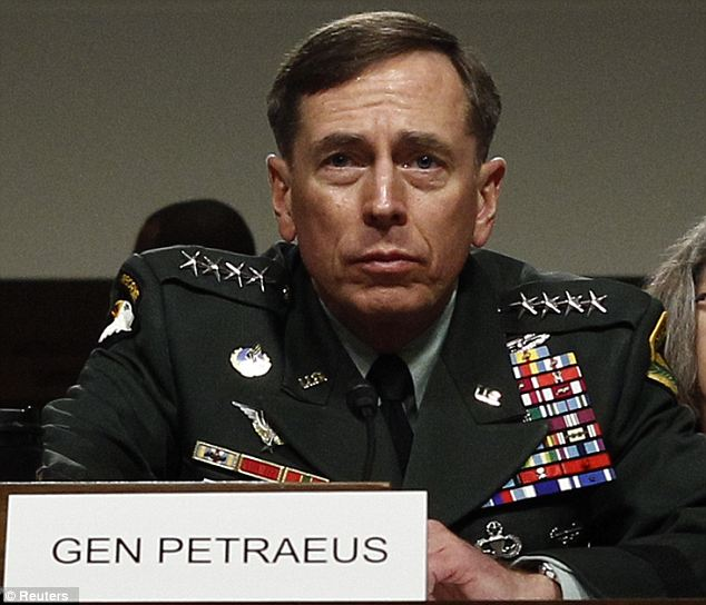 'Morally reprehensible': Pictured with wife Holly behind him in June 2010 on his confirmation as Commander of US forces in Afghanistan, this was Gen David Petraeus's assessment of his own behaviour in his affair with Paula Broadwell.